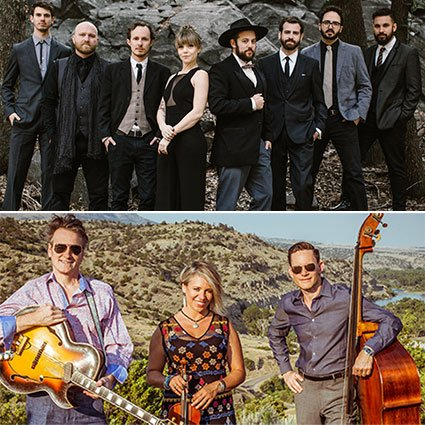 The Dustbowl Revival and Hot Club of Cowtown