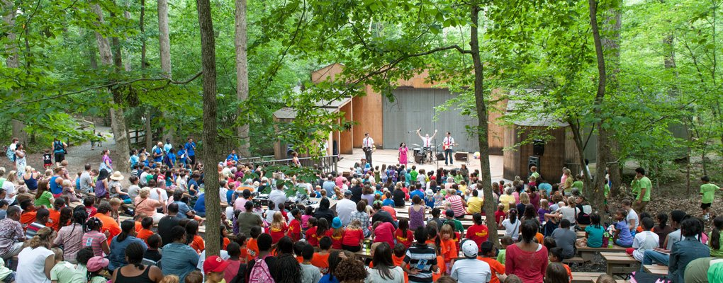 Children S Theatre In The Woods