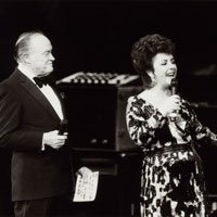 Bob Hope and Liz Taylor