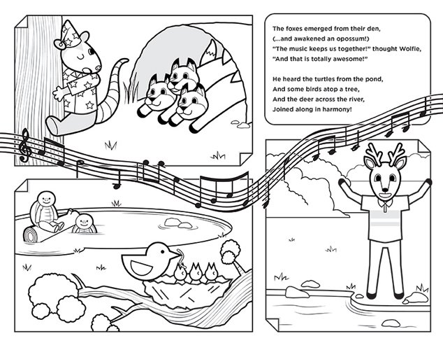 Wolfie's Magical Song Page 5