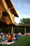 The Lawn at Wolf Trap's Filene Center