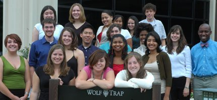 2007 Interns at Wolf Trap