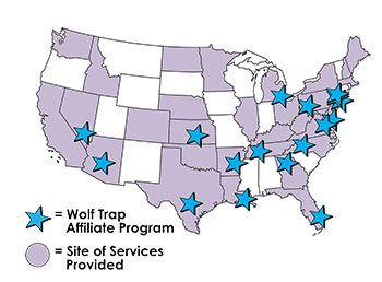 he Wolf Trap Institute national affiliates