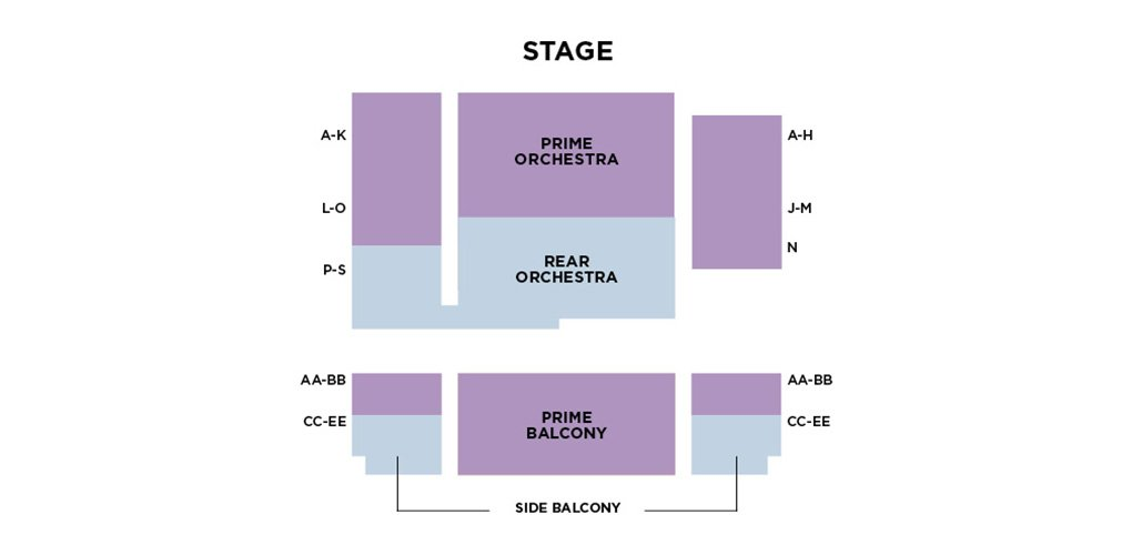 Seating Charts | Wolf Trap